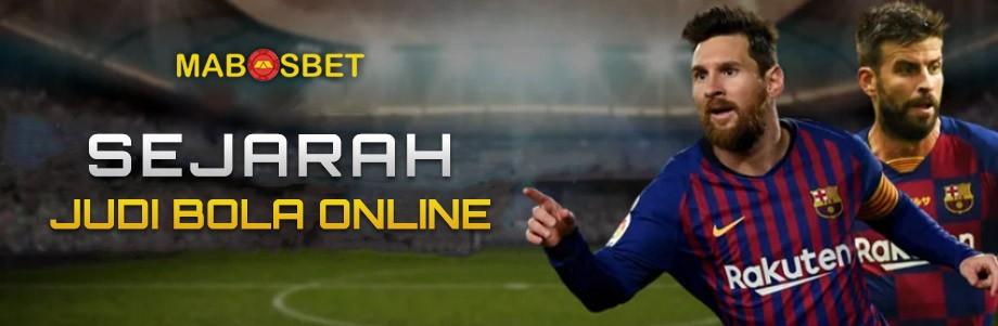 sejarah bola judi online