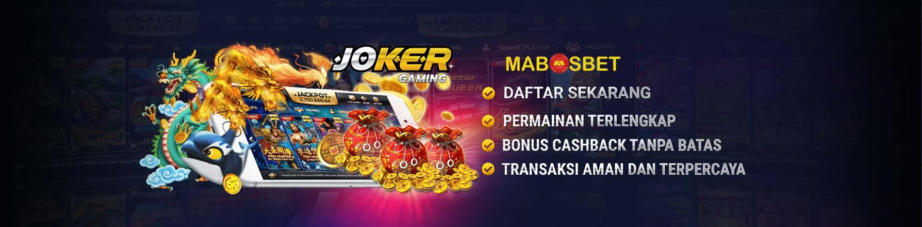 Agen Slot Joker123 Terbaru